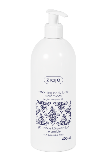 smoothing body lotion with ceramides