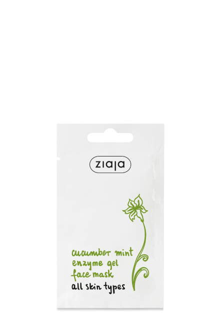 cucumber mint enzyme gel face mask