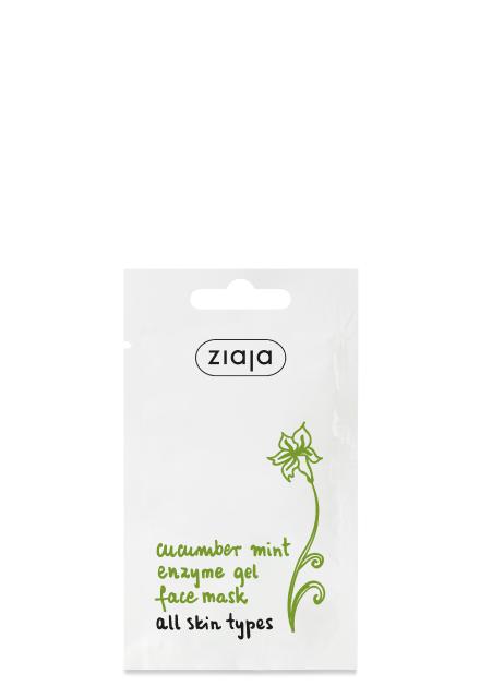 cucumber mint enzyme gel face mask